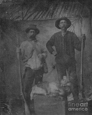 Photograph - Cajun Hunters by Joseph Baril
