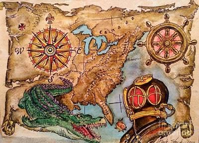 Olde Nautical America  Original