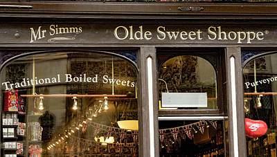 Photograph - Olde Sweet Shoppe by Jean Noren