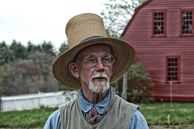 Photograph - Olde Time Farmer by Mike Martin