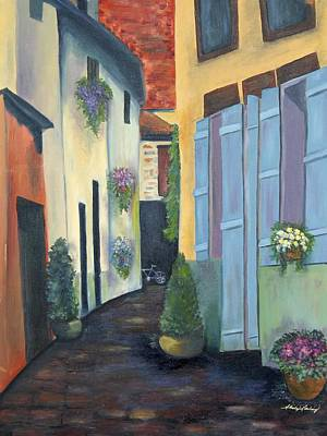 Painting - Olde Towne by Shirley Lawing