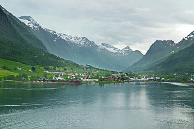 Photograph - Olden On Nordfjord by Terence Davis