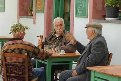 Older Men Remember The Past Original by Yuri Hope