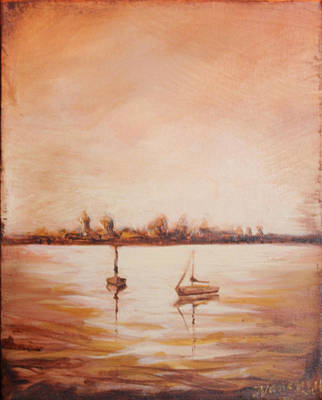 Painting - Oldest City Lights by Michele Hollister - for Nancy Asbell
