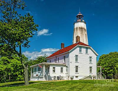 Photograph - Oldest Lighthouse - Sandy Hook by Nick Zelinsky