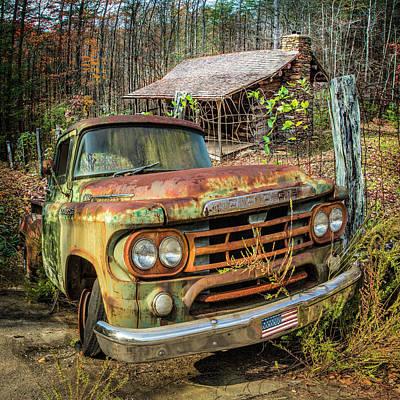 Photograph - Oldie But Goodie 1959 Dodge Pickup Truck by Debra and Dave Vanderlaan