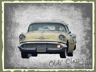 Photograph - Olds Classic  by Bobbee Rickard