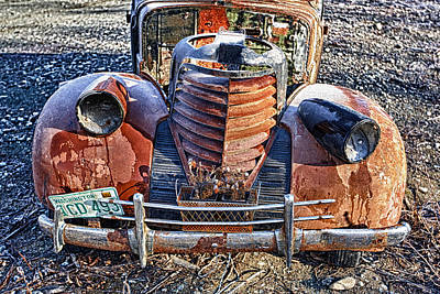 Rust Art Photograph - Olds by Ed Boudreau