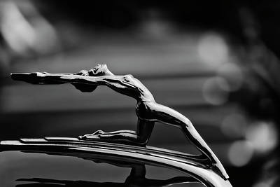 Photograph - Oldsmobile 1933 Hood Ornament by Carol Leigh