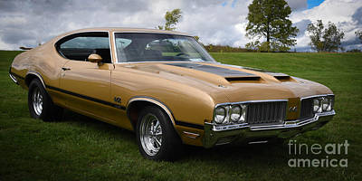 Photograph - Oldsmobile 442 by Grace Grogan
