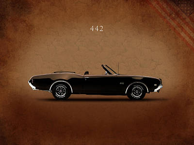 Photograph - Oldsmobile 442 by Mark Rogan