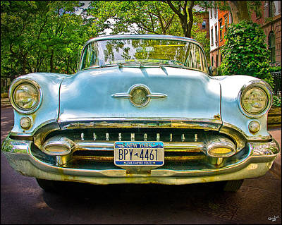 Photograph - Oldsmobile by Chris Lord