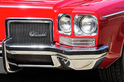 Photograph - Oldsmobile Delta Front Left by Steven Ralser