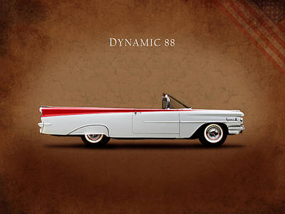 Photograph - Oldsmobile Dynamic 88 by Mark Rogan