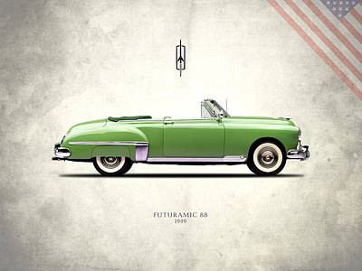 Photograph - Oldsmobile Futuramic 88 1949 by Mark Rogan