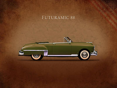 Photograph - Oldsmobile Futuramic 88 by Mark Rogan