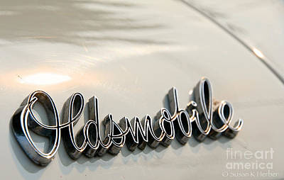 Photograph - Oldsmobile by Susan Herber