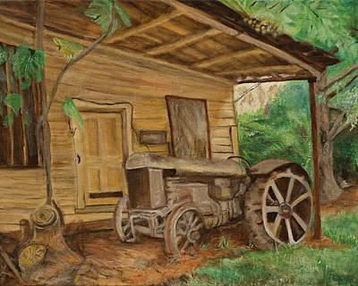 Oldtime Tractor Original