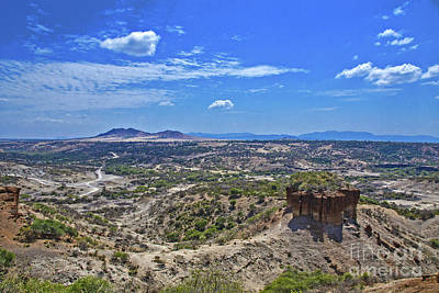 Olduvai Gorge - The Cradle Of Mankind Art Print by Pravine Chester