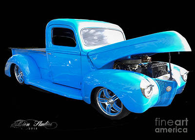 Photograph - Ole Blue Pickup by Melissa Messick