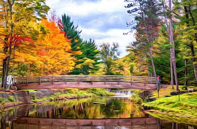 Ole Bull State Park - Pennsylvania - Paint Art Print by Steve Harrington