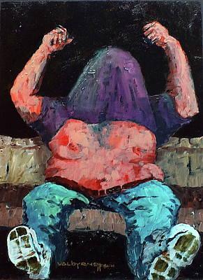 Painting - Ole Ole Ole...oooo by Val Byrne