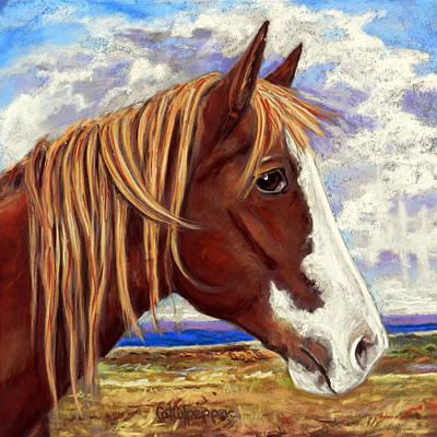 Ole Paint Original by Cat Culpepper