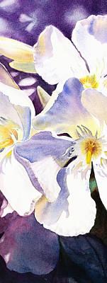 Painting - Oleander By Irina Sztukowski by Irina Sztukowski