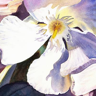 Painting - Oleander Close Up  by Irina Sztukowski