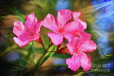 Oleanders Painting - Oleander Dream by Deborah Benoit