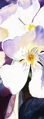 Landscapes Royalty-Free and Rights-Managed Images - Oleander Flower by Irina Sztukowski by Irina Sztukowski