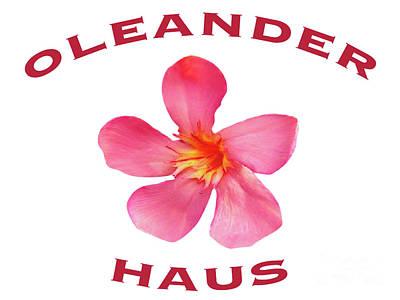 Photograph - Oleander Haus by Wilhelm Hufnagl