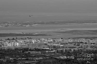 Black And White Photograph - Olhao City. Algarve Portugal by Angelo DeVal