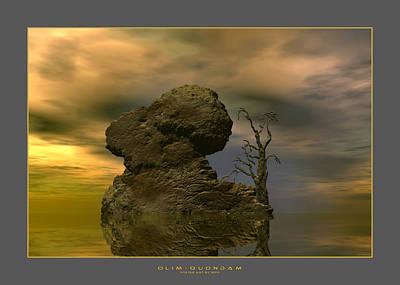 Olim - Quondam - Surrealism Original by Sipo Liimatainen
