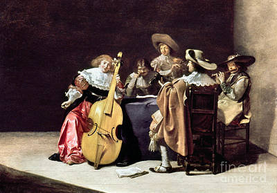 Cellists Photograph - Olis: A Musical Party by Granger