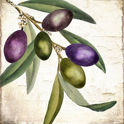 Dine Painting - Olive Branch IIi by Mindy Sommers
