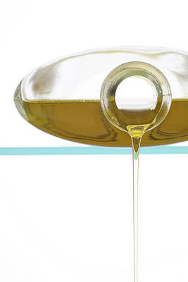 Pour Photograph - Olive Oil by Frank Tschakert