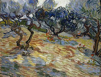 Painting - Olive Trees by Artistic Panda
