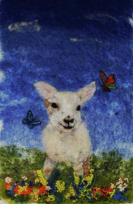 Painting - Oliver And The Big Sky by Susanne Weber