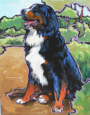 Painting - Oliver by Nadi Spencer