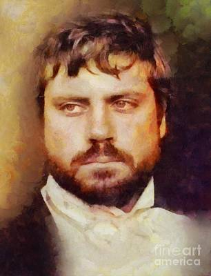 Musicians Royalty Free Images - Oliver Reed, Vintage Actor Royalty-Free Image by Esoterica Art Agency