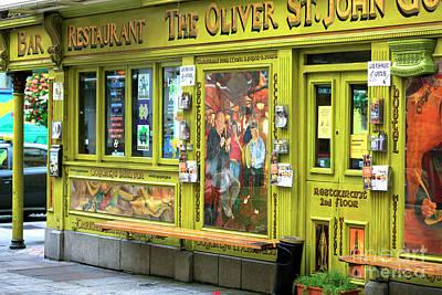 Photograph - Oliver St. John Gogarty Pub by John Rizzuto