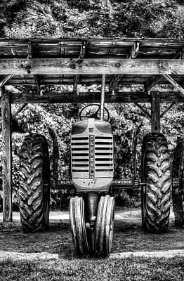 Oliver Tractor Art Print