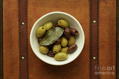 Photograph - Olives 1 by Edward Fielding