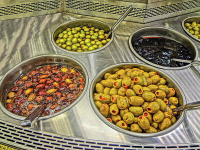 Olives Art Print by Bruce Iorio
