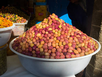 Essaouira Photograph - Olives For Sale In Market, Essaouira by Panoramic Images