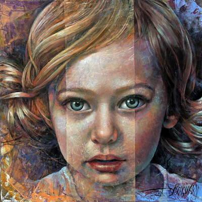 Painting -  Olivia by Arthur Braginsky