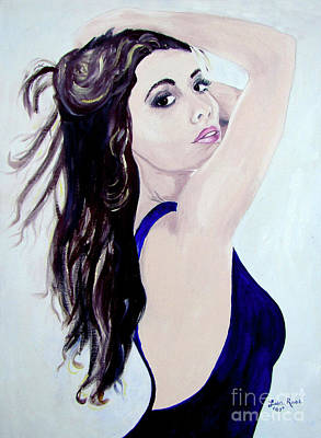 Olivia Painting - Olivia by Lisa Rose Musselwhite
