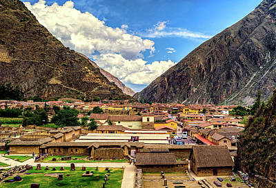 Photograph - Ollantaytambo by Maria Coulson