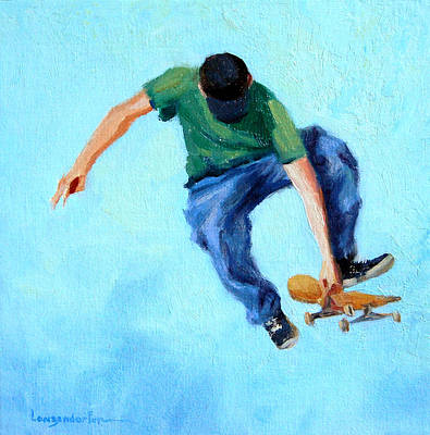 Ollie Painting - Ollie by DJ Lanzendorfer